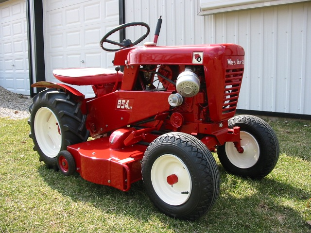 1964 Wheel Horse Tractor : Wheel horse and blower snowblower forum snow forums