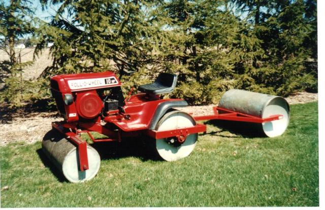 Lawn Roller Homemade By Roy