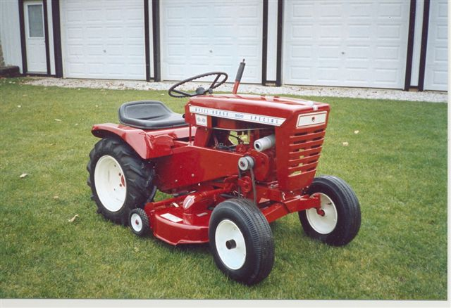 1966 753 Wheel Horse Tractor : Wheel horse tractor pictures to pin on pinterest