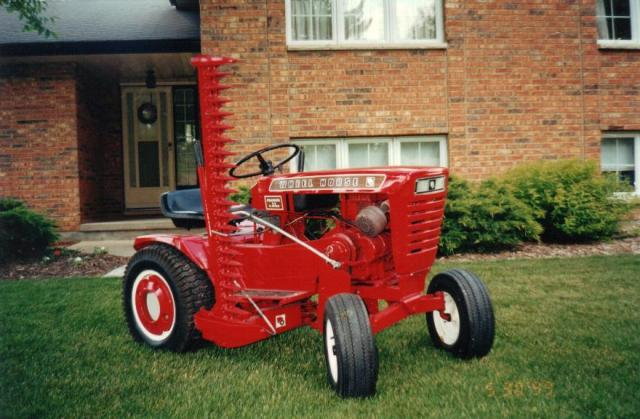 Old Sickle Bar Mower