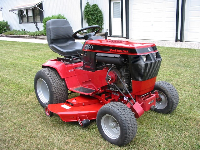 for sale 1996 toro wheel horse 520 h garden tractor Toro Wheel Horse 520 toro wheel horse 520 h manual